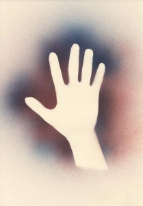 Cave art hand (A3)