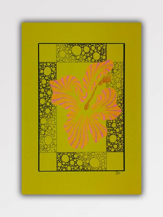 Yello-tropical-flower-A3