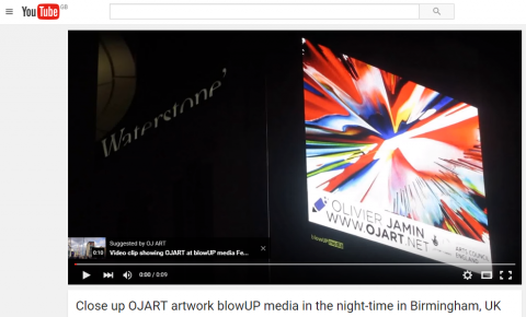 Capture - nighttime OJART blowUP media